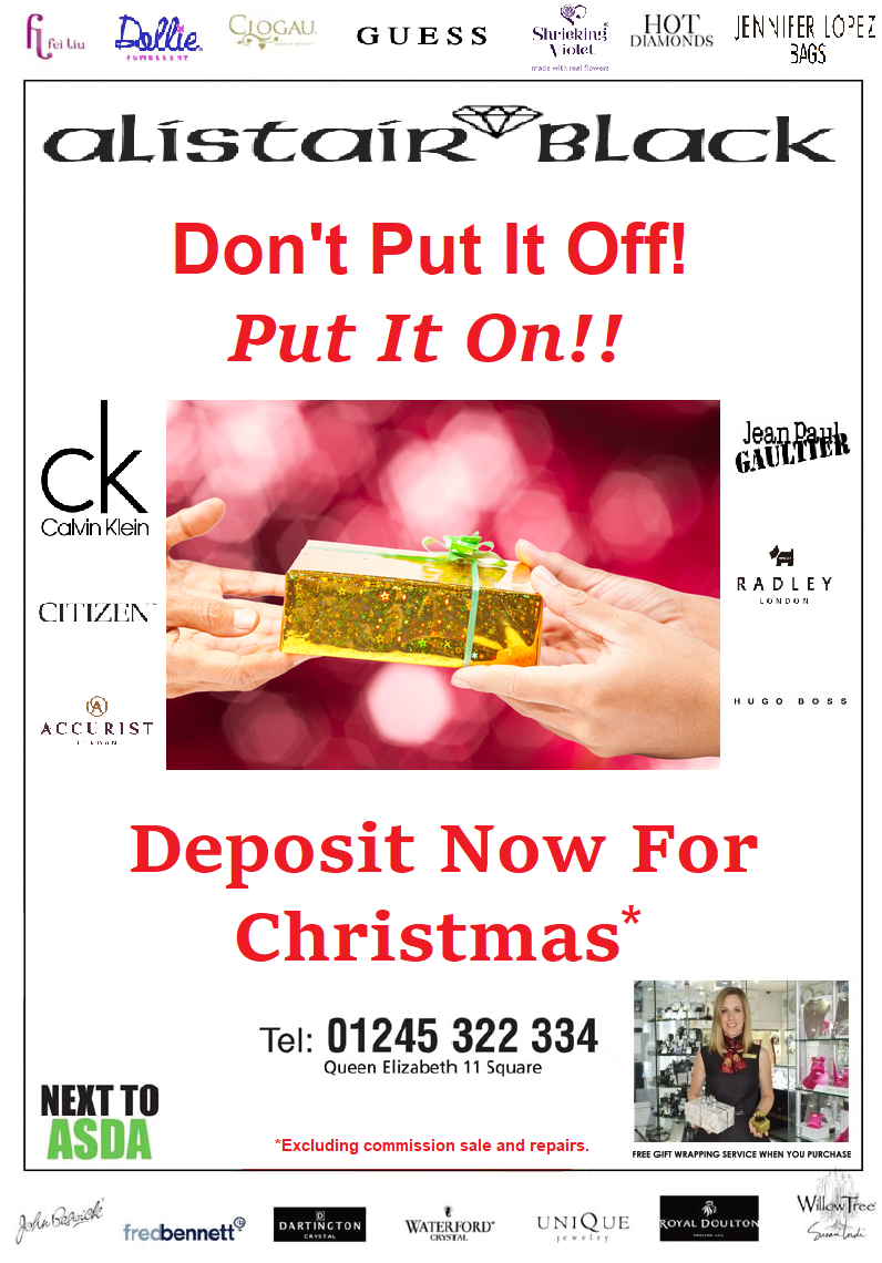 Deposit your perfect gift
